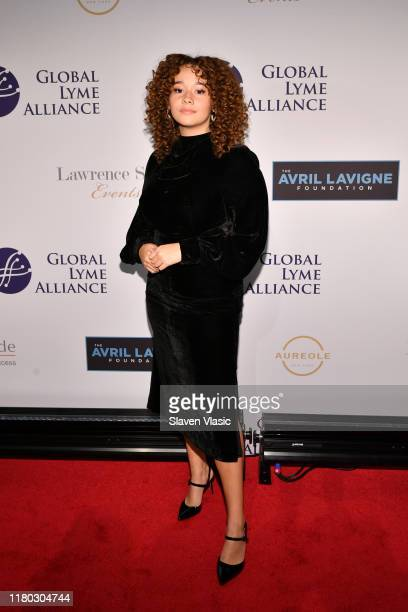 Talia Jackson attends the Global Lyme Alliance fifth annual New York City Gala on October 10 2019 in New York City
