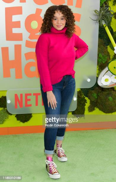 Talia Jackson attends the Premiere of Netflix's Green Eggs and Ham at Hollywood American Legion on November 03 2019 in Los Angeles California
