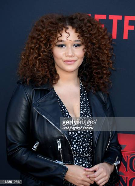 Talia Jackson attends the premiere of Netflix's Stranger Things Season 3 on June 28 2019 in Santa Monica California