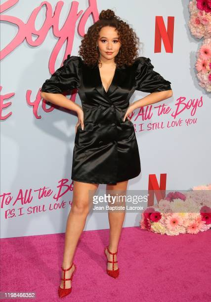 Talia Jackson attends the Premiere of Netflix's To All The Boys PS I Still Love You at the Egyptian Theatre on February 03 2020 in Hollywood...