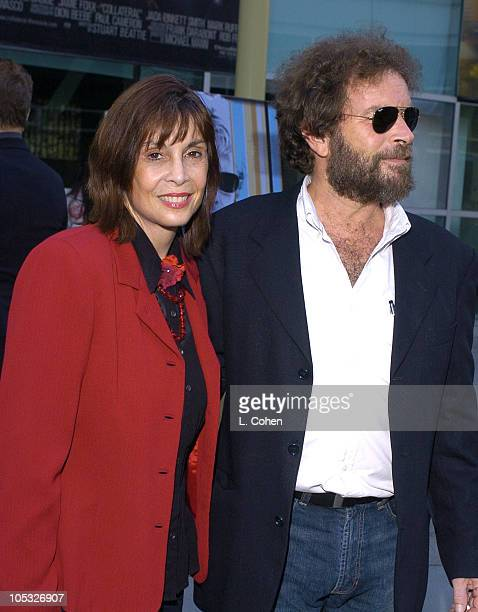 Talia Shire and Bima Stagg coproducer during Stander Los Angeles Premiere Red Carpet at Arclight in Los Angeles California United States