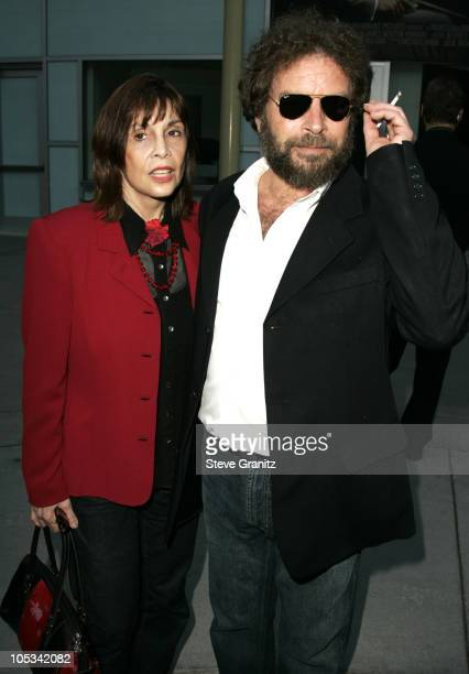Talia Shire and Bima Stagg during Stander Los Angeles Premiere Arrivals at ArcLight Theatre in Hollywood California United States