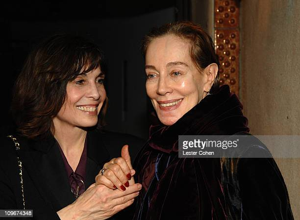 Talia Shire and Milena Canonero during The Diamond Information Center Celestial A Diamond Affair 2007 Hosts Milena Canonero Oscar Tribute at Soho...
