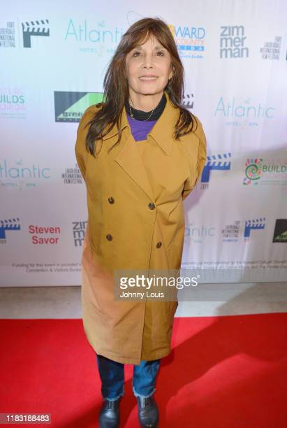 Talia Shire attends the 34th Annual Fort Lauderdale International Film Festival - Closing Night Wrap Party at The Atlantic Hotel & Spa on November...