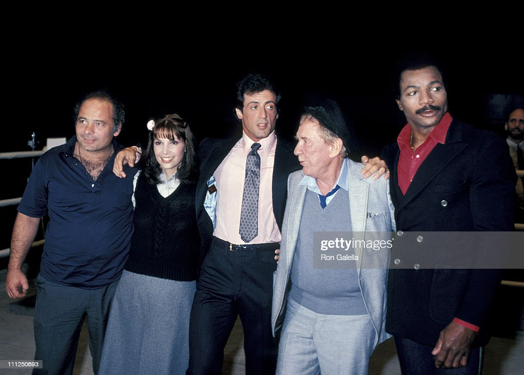 """Press Conference For """"Rocky III"""" : News Photo"""