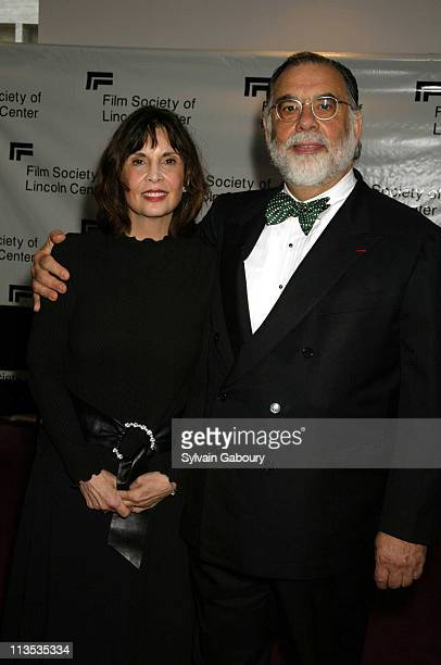 Talia Shire Francis Ford Coppola during The Film Society of Lincoln Center Gala Tribute to Francis Ford Coppola at Avery Fisher Hall in New York City...