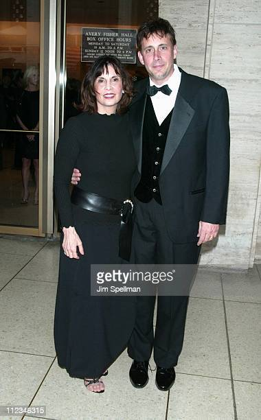 Talia Shire Mark Coppola during The Film Society of Lincoln Center Gala Tribute To Francis Ford Coppola at Avery Fisher Hall Lincoln Center in New...