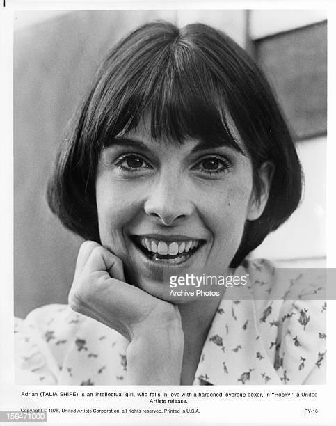 Talia Shire publicity portrait for the film 'Rocky' 1976