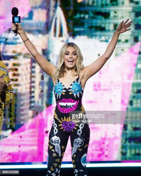 Talia Storm presents at WE Day UK on March 22 2017 in London United Kingdom