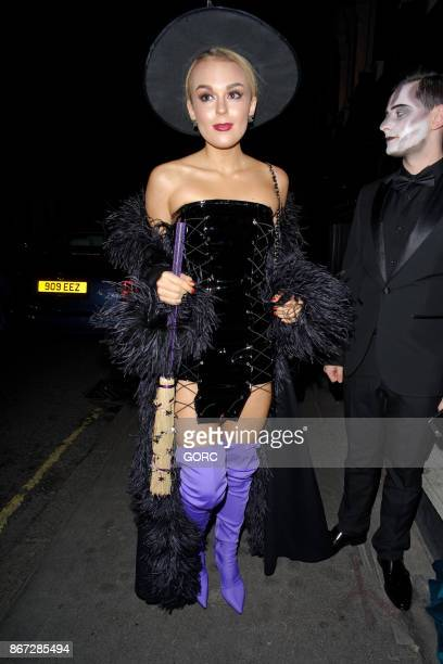Talia Storm sighting at the Mandrake Hotel on October 27 2017 in London England