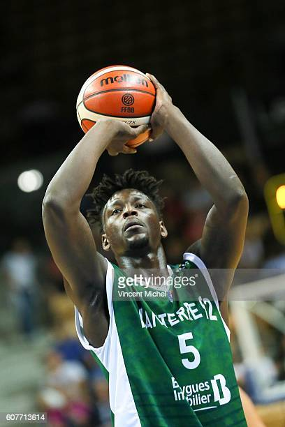 Talib Zanna of Nanterre during the match for the 3rd and 4th place between Nanterre and Khimki Moscow at Tournament ProStars at Salle Arena Loire on...
