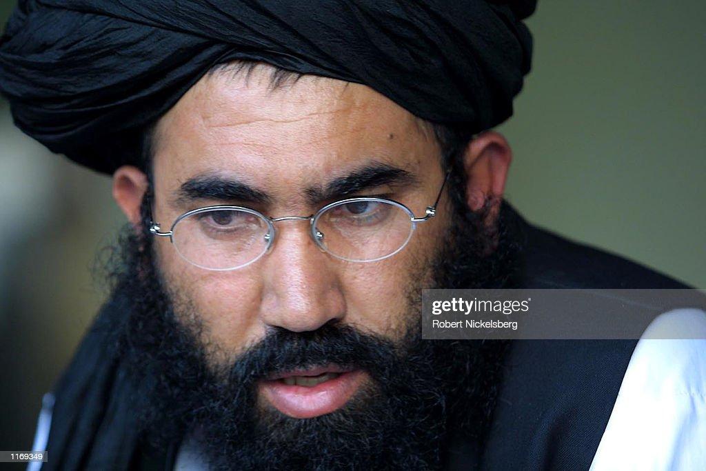Taliban Ambassador to Pakistan Mullah Abdul Salam Zaeef : News Photo