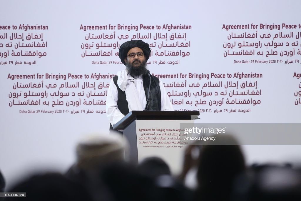Taliban and US sign landmark peace deal in Doha, Qatar : News Photo