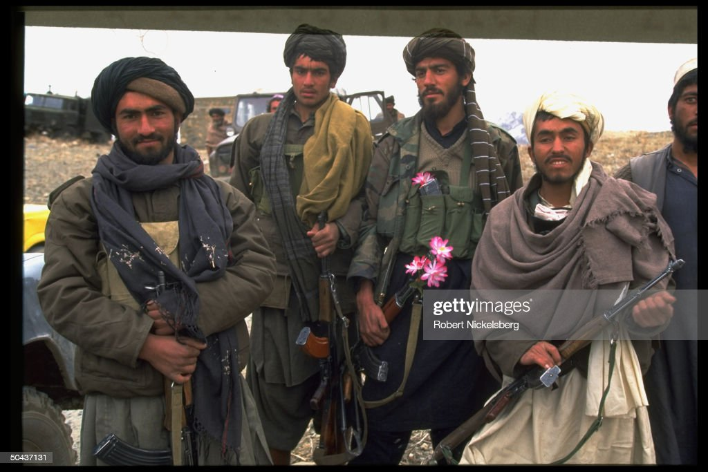 Taliban fighters at new radical Islamic : News Photo