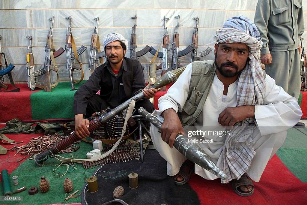 Taliban Fighters Surrender In Herat : News Photo