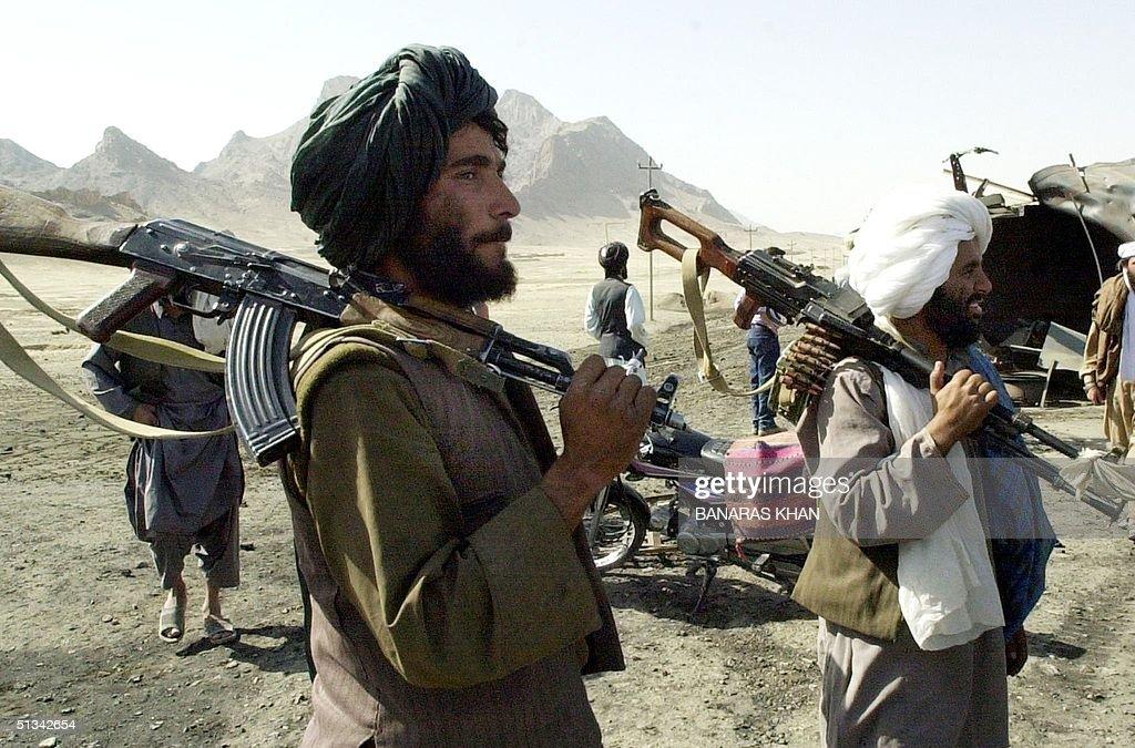 Taliban gumen control Kandahar-Herat Highway, near : News Photo