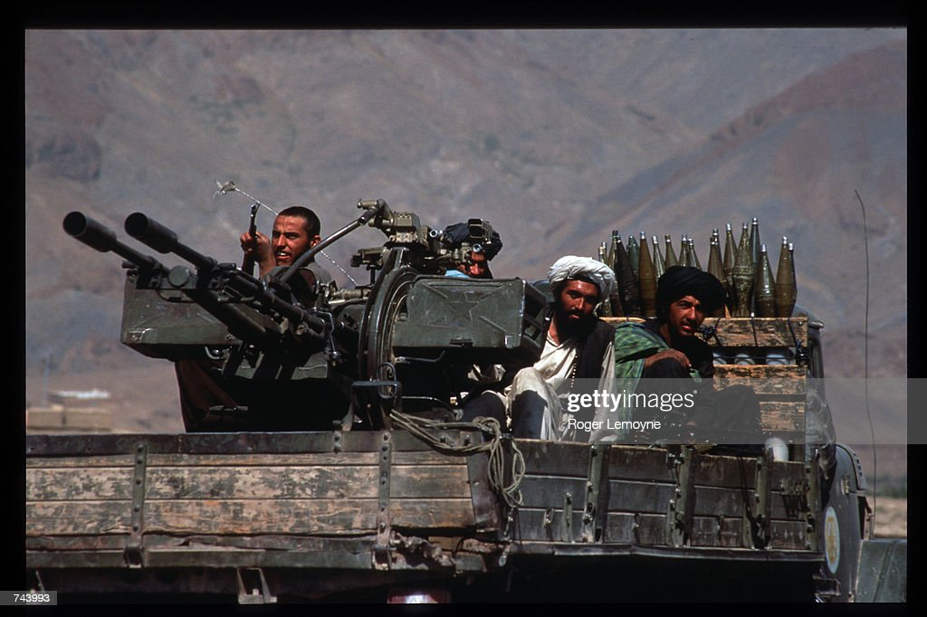 Taliban Militia Threatened By Opposition : News Photo
