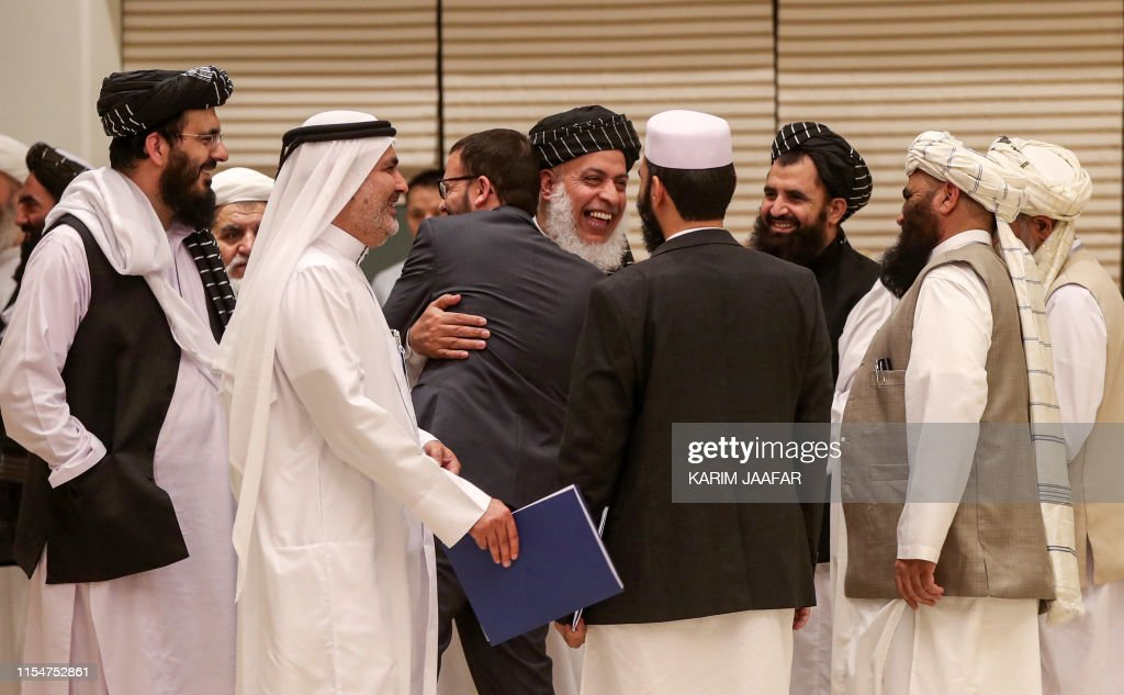 QATAR-US-AFGHANISTAN-TALIBAN-UNREST-PEACE : News Photo
