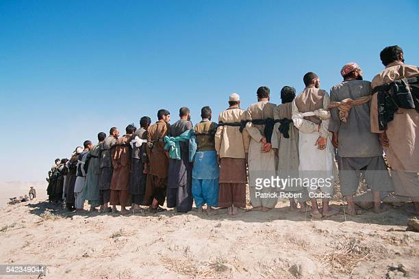 Taliban prisoners captured by the Maymana cavalry in Herat Province allied to General Dostum The city of Herat was captured by the Taliban in...