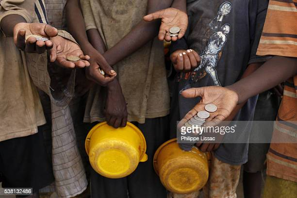 Talibe children begging