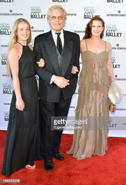 Talicia Martins, Peter Martins and Darci Kistler attend the 2013 New York City Ballet Spring Gala at David H. Koch Theater, Lincoln Center on May 8,...