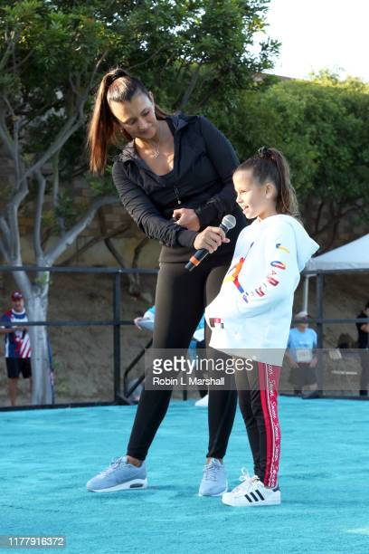 Talinda Bennington and daughter attend the 21st Annual Alive And Running 5k For Suicide Prevention on September 29 2019 in Los Angeles California