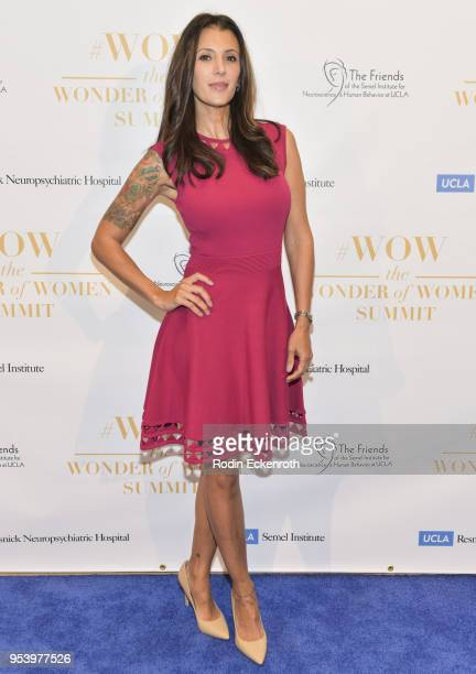 Talinda Bennington attends The Wonder of Women Summit at UCLA on May 2, 2018 in Los Angeles, California.