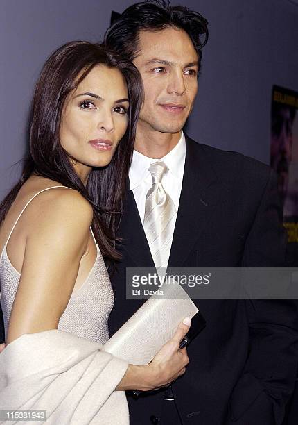 Talisa Soto and Benjamin Bratt during Pinero Premiere in New York City at Loew's Village VII Theater 11th Street and 3rd Avenue in New York City New...