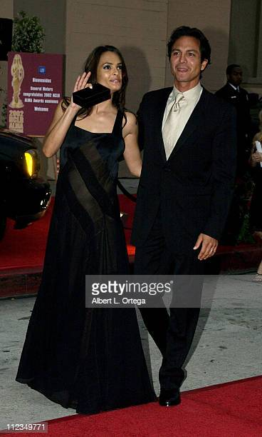Talisa Soto Benjamin Bratt during The 2002 ALMA Awards Arrivals at The Shrine Auditorium in Los Angeles California United States