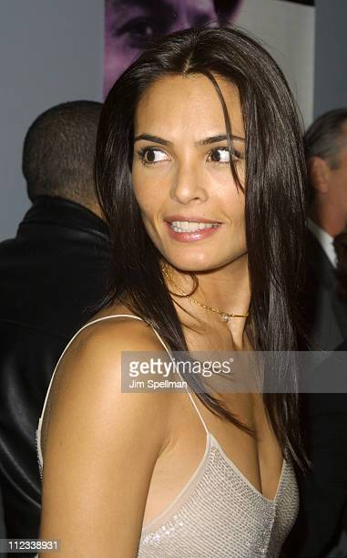Talisa Soto during Pinero New York Premiere at Loews Village Theater in New York City New York United States