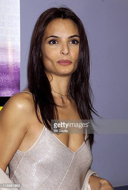 Talisa Soto during Pinero Premiere in New York City at Loew's Village VII Theater 11th Street and 3rd Avenue in New York City New York United States