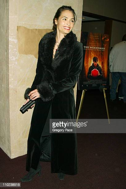 """Talisa Soto during """"The Woodsman"""" New York Cit y Premiere - Inside Arrivals at The Skirball Center in New York City, New York, United States."""