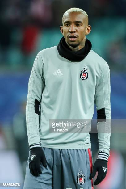 Talisca of Besiktas looks on during the UEFA Champions League group G soccer match between RB Leipzig and Besiktas at the Leipzig Arena in Leipzig...