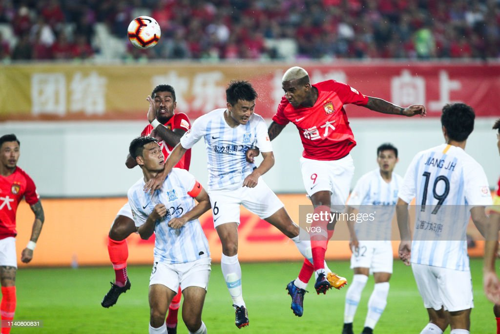 18eb94946 Guangzhou Evergrande v Guangzhou R F - 2019 Chinese Super League   News  Photo