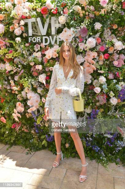 Talita von Furstenberg celebrates her first collection for DVF at Chateau Marmont's Bar Marmont on April 25, 2019 in Hollywood, California.