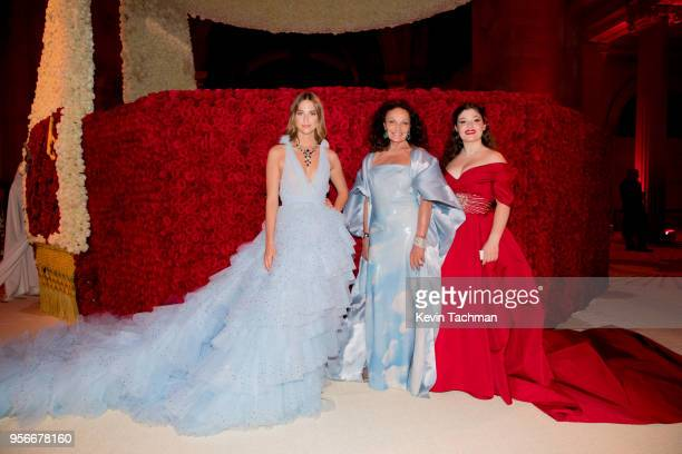 Talita Von Furstenberg Diane von Furstenberg and Antonia Steinberg attend the Heavenly Bodies Fashion The Catholic Imagination Costume Institute Gala...