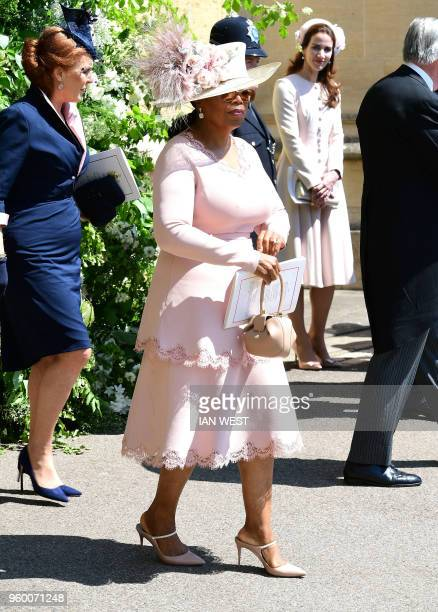 Oprah At Prince Harry Wedding.36 Oprah Winfrey Royal Wedding Pictures Photos Images Getty Images