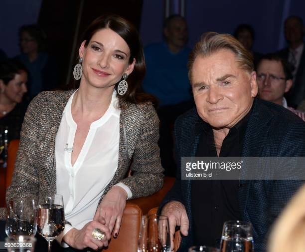 'NDR Talk Show' Fritz Wepper und Tochter Sophie Schauspieler