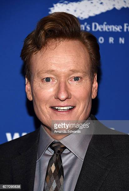 Talk show host Conan O'Brien arrives at the Children's Defense FundCalifornia's 26th Annual Beat The Odds Awards at the Beverly Wilshire Four Seasons...