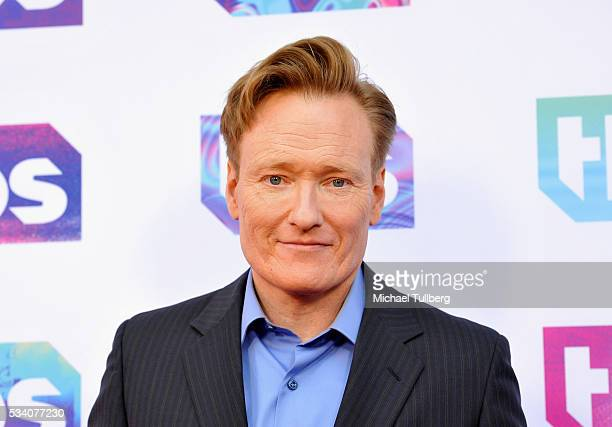 Talk show host Conan O'Brien attends TBS's A Night Out With - For Your Consideration event at The Theatre at Ace Hotel on May 24, 2016 in Los...