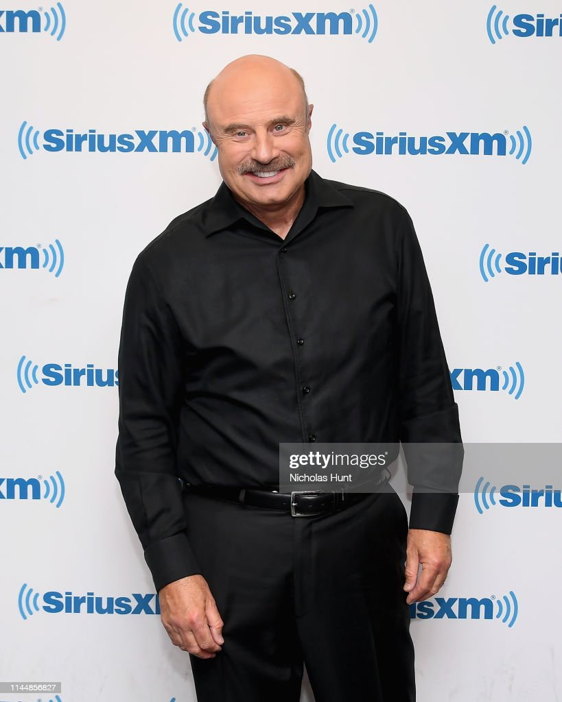 NY: Celebrities Visit SiriusXM - April 24, 2019
