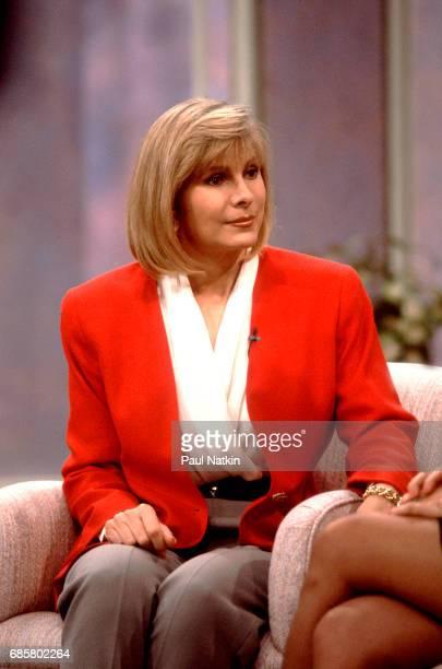 Talk show host Jenny Jones at NBC Studios in Chicago Illinois September 11 1991