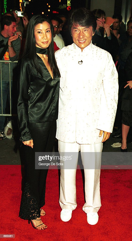 Talk show host Lisa Ling and world famous martial arts actor Jackie