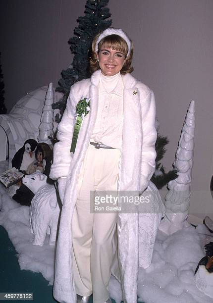 Talk show host Maty Monfort attends the 64th Annual Hollywood Christmas Parade on December 3, 1995 at KTLA Studios in Hollywood, California.