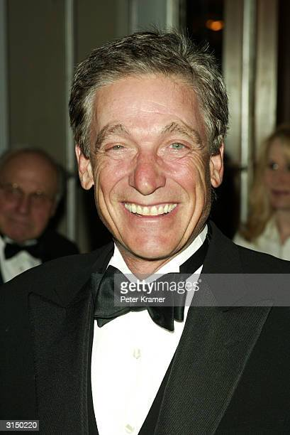 Talk Show Host Maury Povich attends the 47th Annual New York Emmy Awards March 28 2004 in New York City