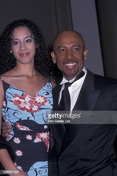 Talk Show Host Montel Williams and daughter Ashley Williams attending Tree Of Life Awards on March 23 2002 at the Beverly Wilshire Hotel in Beverly...