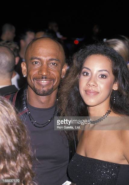 Talk Show Host Montel Williams and daughter Ashley Williams attending Party for 18th Annual MTV Video Music Awards on September 6 2001 at Man Ray in...