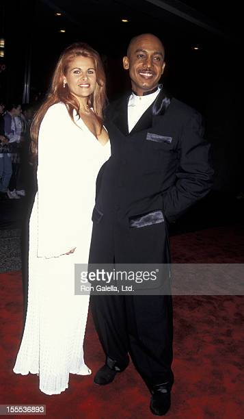 Talk Show Host Montel Williams and Grace Morley attending 22nd Annual Daytime Emmy Awards on May 19 1995 at the Marriott Marquis Hotel in New York...