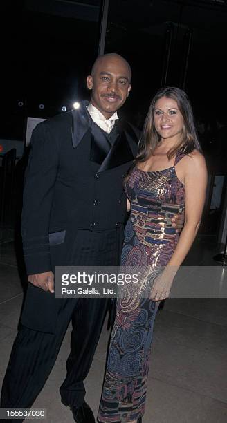 Talk Show Host Montel Williams and wife Grace Morley attending 12th Annual Genesis Awards on the Beverly Hilton Hotel in Beverly Hills California