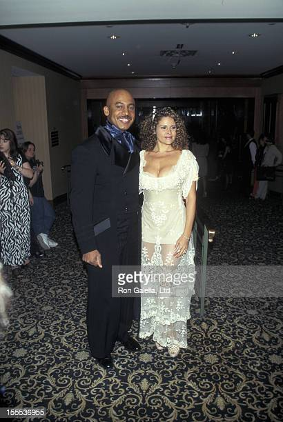 Talk Show Host Montel Williams and wife Grace Morley attending 24th Annual Daytime Emmy Awards on May 21 1997 at Radio City Music Hall in New York...